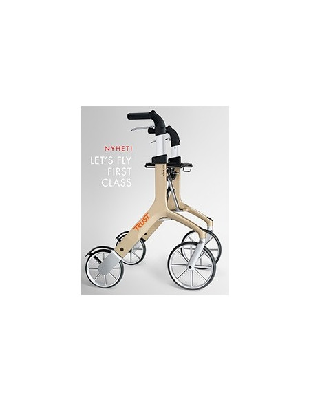 Rollator Lets Fly